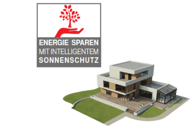 Energiesparen mit Sonnenschutz